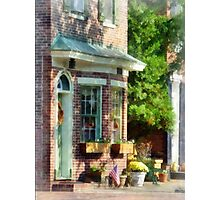 New Castle DE Sunny Afternoon Photographic Print