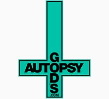 God's Autopsy light blue Women's Fitted Scoop T-Shirt