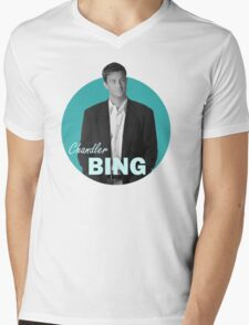 Chandler Bing - Friends Mens V-Neck T-Shirt