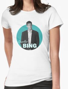 Chandler Bing - Friends Womens Fitted T-Shirt