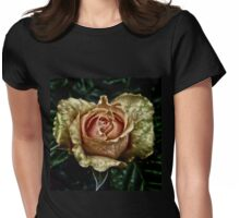 Artistic Glow Womens Fitted T-Shirt