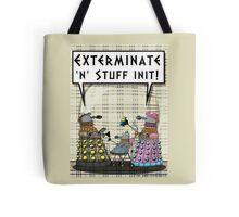 Chav Daleks Tote Bag