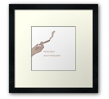 Problems? What Problems? Framed Print