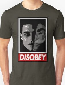 mr robot - disobey Unisex T-Shirt
