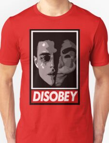 mr robot - disobey T-Shirt
