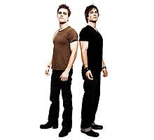 Salvatore Brothers The Vampire Diaries Photographic Print