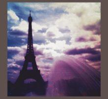 Eiffel Tower, Paris One Piece - Short Sleeve