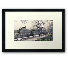 *Green is NYC No.9* Framed Print