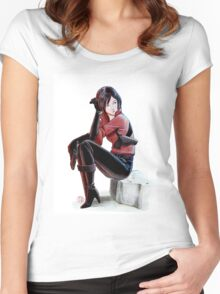 Resident evil - Ada Wong Tribute Women's Fitted Scoop T-Shirt