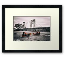 *Well Versed* (Remix) Framed Print