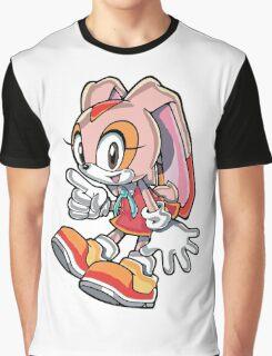 Cream Graphic T-Shirt