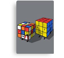 Emotional cubes. Canvas Print