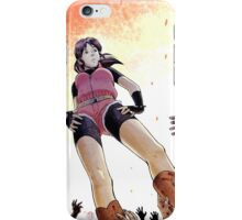 Resident evil - Claire Redfield Tribute iPhone Case/Skin