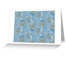 Seamless Flower  Pattern. Summer background garden Greeting Card
