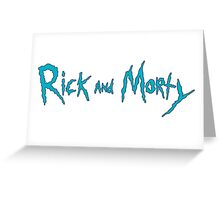 rick and morty 2 Greeting Card