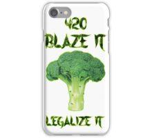 Broccoli 420 iPhone Case/Skin