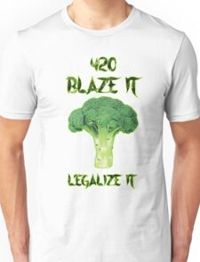 Broccoli 420 Unisex T-Shirt