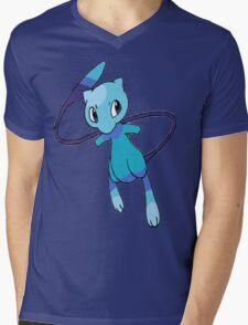 Shiny Mew Mens V-Neck T-Shirt