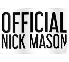 Official Nick Mason Poster