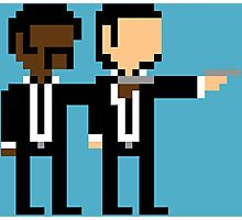 8Bit Pulp Fiction Photographic Print