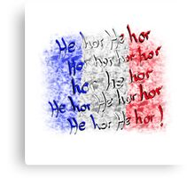 french national anthem Canvas Print