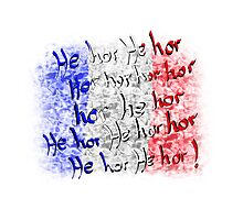 french national anthem Photographic Print