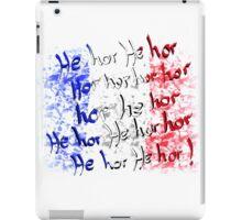 french national anthem iPad Case/Skin