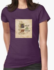 Charmed- book of shadows Womens Fitted T-Shirt