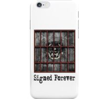 Skull Signed Forever iPhone Case/Skin