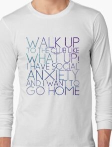 WHAT UP! Long Sleeve T-Shirt