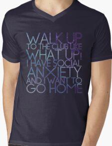 WHAT UP! Mens V-Neck T-Shirt