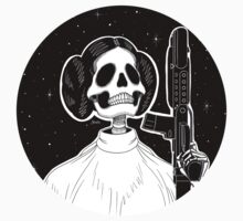 Leia (Stack's Skull Sunday) Kids Tee