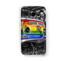 VW van GAY ride Samsung Galaxy Case/Skin
