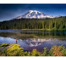 Mt Ranier Photographic Print