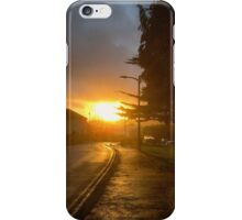 Sunset Street iPhone Case/Skin