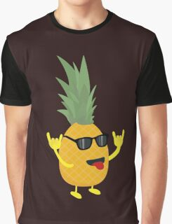 rock'n'roll pineapple Graphic T-Shirt