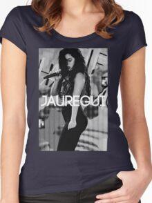 """Lauren Jauregui """"Jauregui Designs"""" Women's Fitted Scoop T-Shirt"""