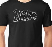 1-21 Gigawatts Back To The Future Inspired Nerd Movie Unisex T-Shirt