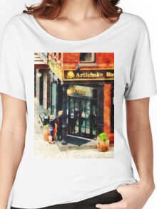 Manhattan NY - New York Pizzeria Women's Relaxed Fit T-Shirt