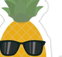 Rock 'n' Roll Pineapple Sticker