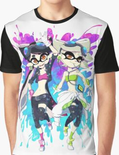 Grand Prix Squid Sisters Graphic T-Shirt