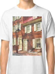 Philadelphia PA Brownstone Classic T-Shirt