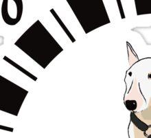 Bull Terrier Motor Sticker