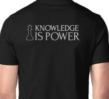 Chess Shirt - Knowledge is Power Unisex T-Shirt