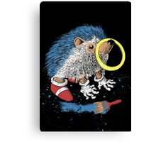 He wants to be the fastest one. Canvas Print
