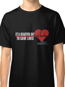 Grey's Anatomy - It's a Beautiful Day to Save Lives Classic T-Shirt