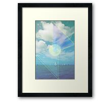 The Seas Be Ours Framed Print
