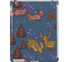 National park with deers iPad Case/Skin