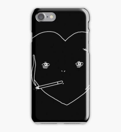 Lonely Hearts - Smoking Heart  iPhone Case/Skin