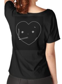Lonely Hearts - Smoking Heart  Women's Relaxed Fit T-Shirt